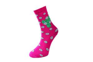 pembe renkli çoraplar