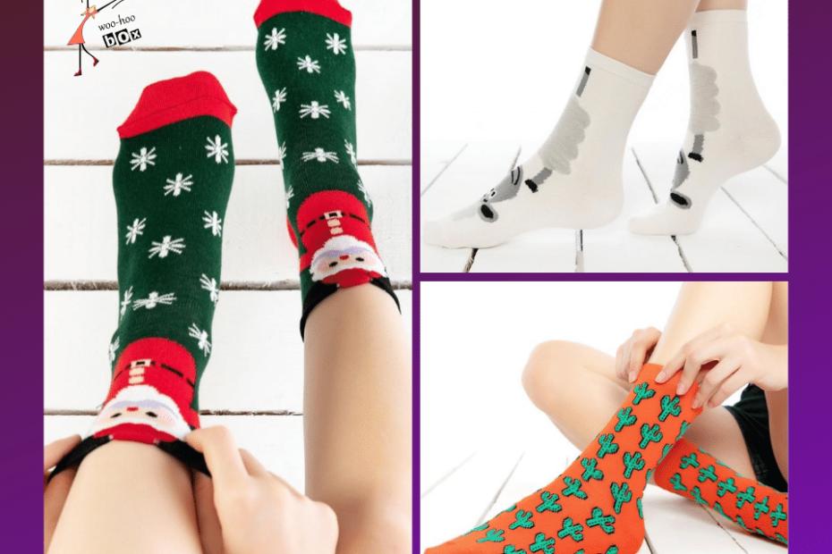 woohoobox çorap çeşitleri.Sevimli çoraplar