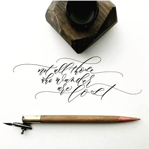 Kaligrafi Nasıl Yazılır?