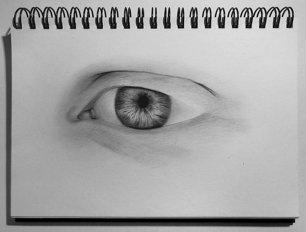 Gerçekçi Bir Göz Nasıl Çizilir: Adım Adım Çizim Eğitimi!