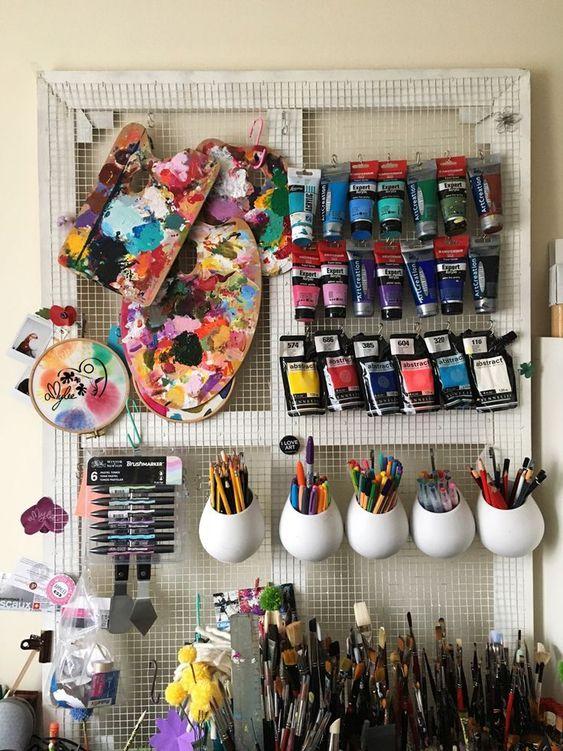 Evde Yaratıcı Bir Stüdyo Alanı Tasarlamak İçin İpuçları!