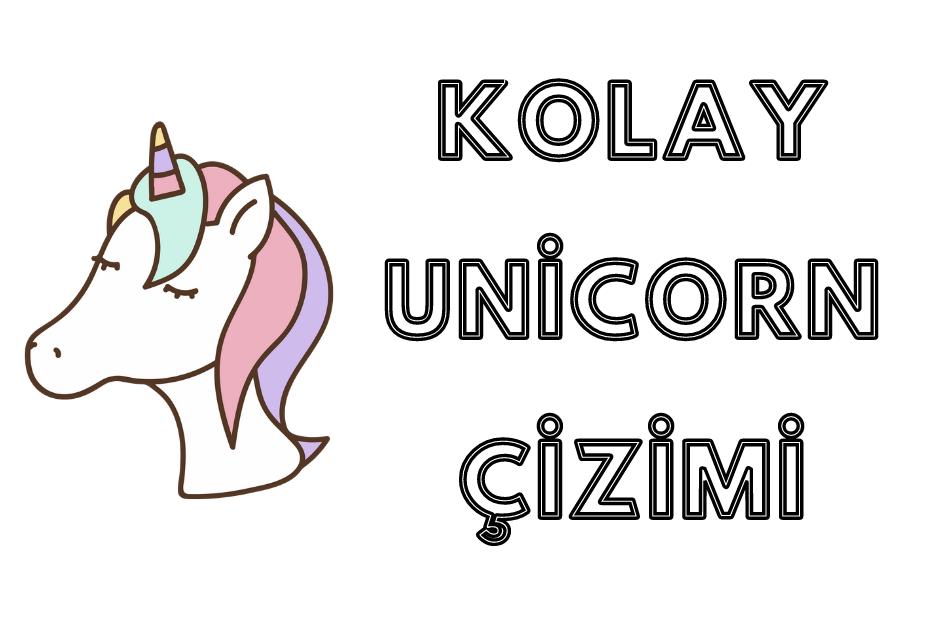 Kolay Unicorn Çizimi