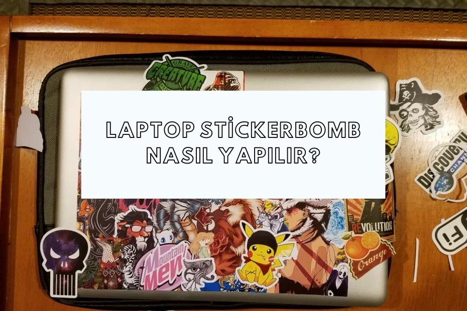 Laptop Stickerbomb