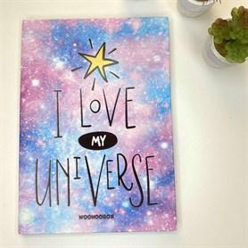 Kalın Kapaklı Planlayıcı / Ajanda Galaksi I Love My Universe