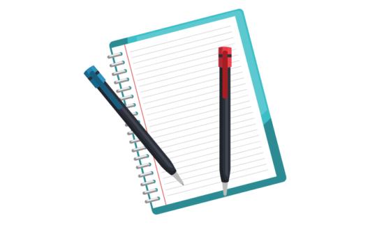 renkli kalem kullanımı