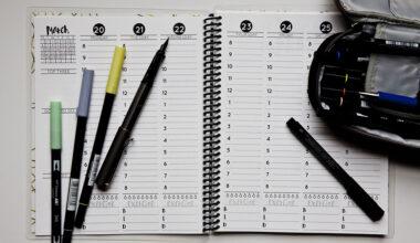 Günlük, Haftalık, Aylık Planlayıcı Nasıl Kullanılır?